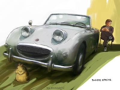 Bugeye Sprite Art Print by RG McMahon