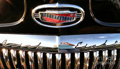 Buick 1952 Front Grill Art Print by Elizabeth Coats