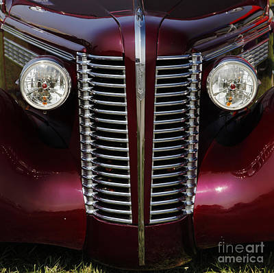 Buick Grill Photograph - Buick by Dennis Hedberg