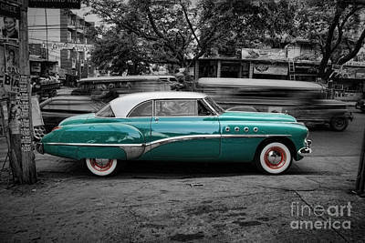 Photograph - Buick Eight Roadmaster by Yhun Suarez