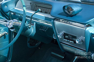 Buick Electra Interior Print by Bob Christopher