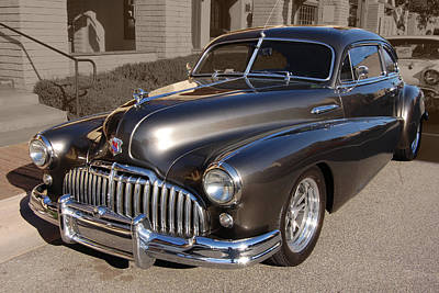 Art Print featuring the photograph Buick Fastback by Bill Dutting