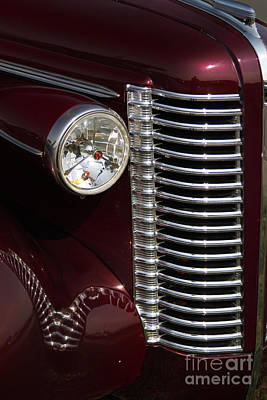 Buick Grill Photograph - Buick Grill by Dennis Hedberg