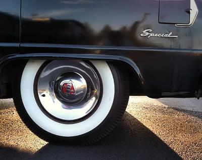Buick Rear Art Print by Elizabeth Coats
