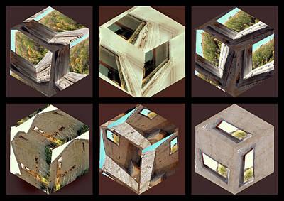 Building Blocks Art Print by Irma BACKELANT GALLERIES