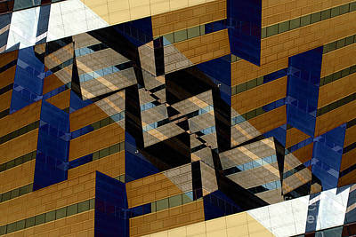 Building Deconnexion Art Print by R Kyllo