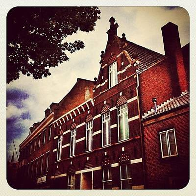 Dutch Photograph - Building In #venray by Wilbert Claessens