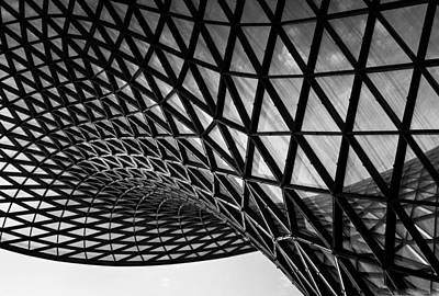 Photograph - Building Structure 1 by Sumit Mehndiratta