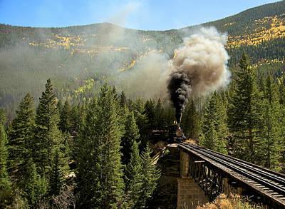 Oil Burner Photograph - Building Up Steam by Stephen  Johnson