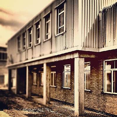 Norfolk Wall Art - Photograph - Buildings - Back Of Police Station by Invisible Man