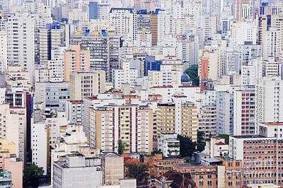 Buildings Of Downtown Sao Paulo Art Print