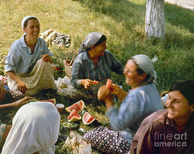 Photograph - Bulgaria: Peasants by Granger