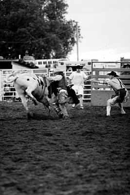 Cowboys Photograph - Bull Fighter by Rick Rowland