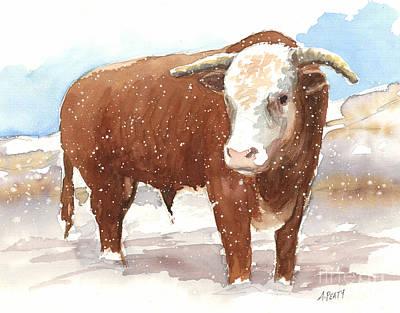 Bull Market Art Print