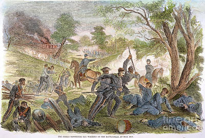 Bull Run: Rebel Bayonets Art Print by Granger