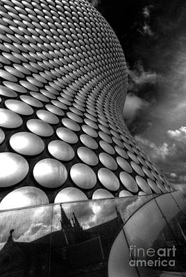 Selfridge Photograph - Bullring - Selfridges V2.0 Bw  by Yhun Suarez