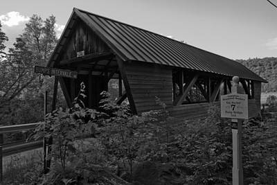 Photograph - Bump Covered Bridge by Robert Clifford