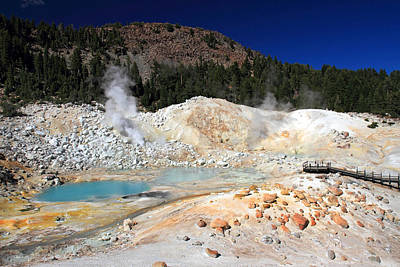 Photograph - Bumpass Hell Landscape by Pierre Leclerc Photography