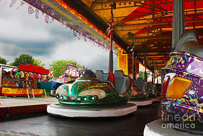 Photograph - Bumper Cars by Terri Waters