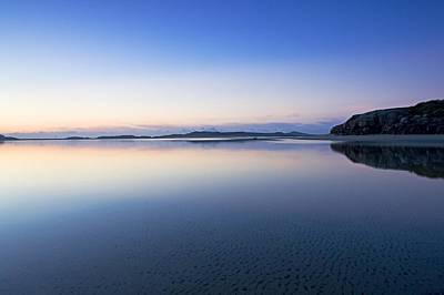 Bunbeg, County Donegal, Ireland Sunset Art Print by Peter McCabe