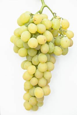 Bunch Of Grapes Art Print by Maj Seda