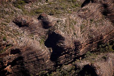 Photograph - Bungle Bungle Ravine by Carole Hinding