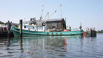Photograph - Bunker Boat by Mary Haber