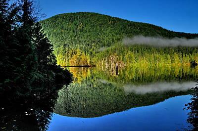 Photograph - Buntzen Lake by Sandra Sigfusson