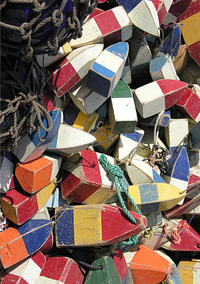 Painting - Buoys by Kevin Brant