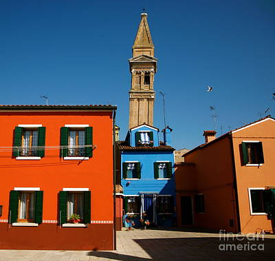 Photograph - Burano Italy II by Louise Fahy