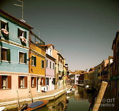 Photograph - Burano Italy IIi by Louise Fahy