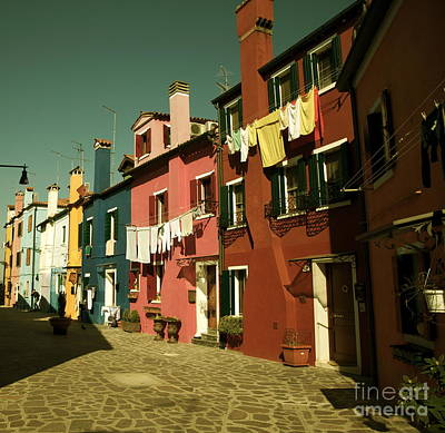Photograph - Burano Italy Iv by Louise Fahy