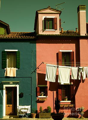 Photograph - Burano Italy by Louise Fahy