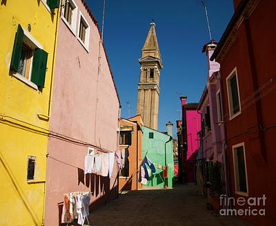 Photograph - Burano Italy V by Louise Fahy