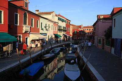 Photograph - Burano by Mary-Lee Sanders