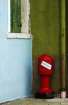 Anne Geddes - Burano Out of Service by Mike Nellums