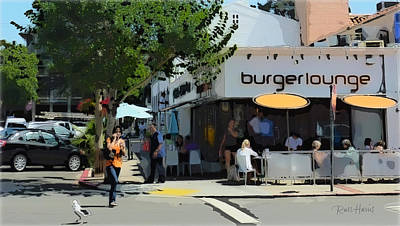 Burgerlounge La Jolla Original by Russ Harris