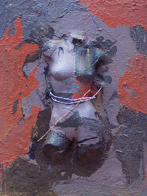 Belfast Mixed Media - Burn by Brian Rock