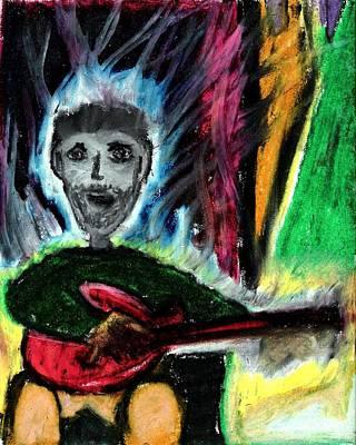 Leviglassrock Pastel - Burning Desire by Levi Glassrock