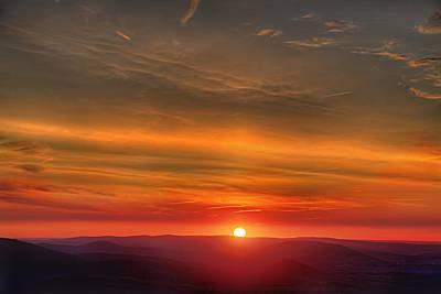 Photograph - Burning Sun by Metro DC Photography