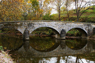 Burnside Bridge Photograph - Burnside Bridge by Brian M Lumley