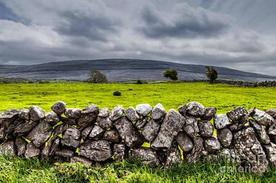 Burren Stones Art Print