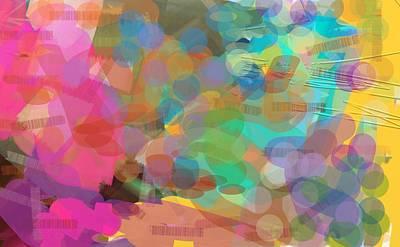 Burst Of Creation Art Print