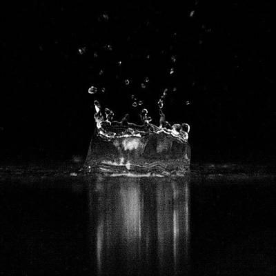 Burst. Somatic-studios.com #water Art Print
