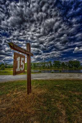 Saint Charles Digital Art - Busch Wildlife Lake 15 by Bill Tiepelman