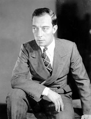 Publicity Shot Photograph - Buster Keaton, Mgm, Ca. Late 1920s by Everett
