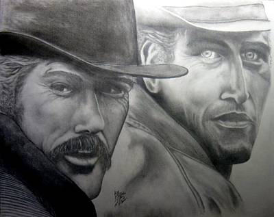 Butch Cassidy And The Sundance Kid Original by Audrey Snead