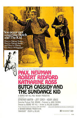Butch Cassidy And The Sundance Kid Art Print by Everett