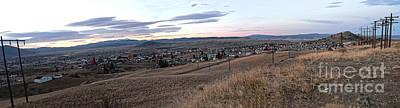 Butte Montana Photograph - Butte Morning by David Bearden