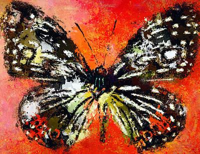 Digital Art - Butterfly 3 by Yury Malkov